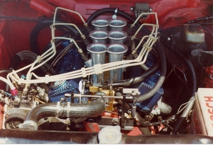 M A Div Ansaugtrichter Rs on Ford Cologne V6 Engine