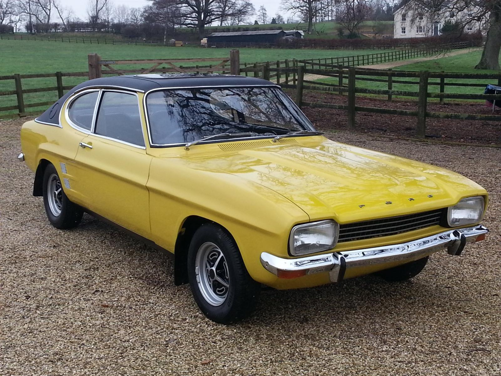 Capri photos and Capri pictures - Ford Capri MkI 1600GT 1974