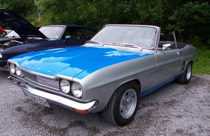 Restauriertes und umgebautes Capri I Deutsch Cabriolet von 1969.