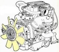 PRN - V6 2,8i engine inejction