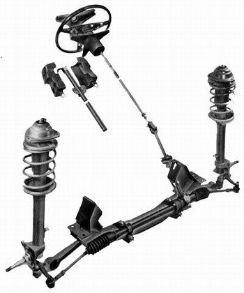 Ford Capri Steering System