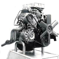 QZ - V6 RS 2600 engine