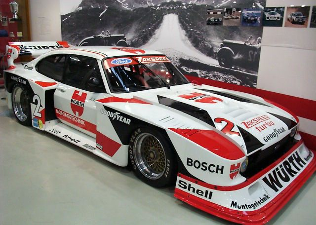 geschichte ford capri im motorsport. Black Bedroom Furniture Sets. Home Design Ideas