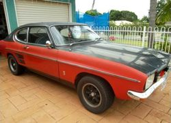 Ford Capri MkI 3000GT 1973 from export New Zealand to Australia