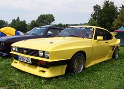 Ford Capri III with body tuning
